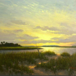 """Return to Moise Island,"" J. Christian Snedeker. 30"" x 40"" Oil on Canvas"