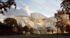 New Louis Vuitton Foundation Museum designed by Frank Gehry